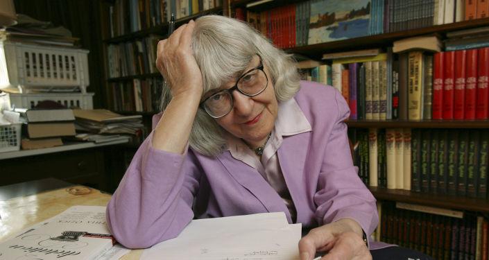 Cynthia Ozick, la escritora, crítica literaria y catedrática estadounidense