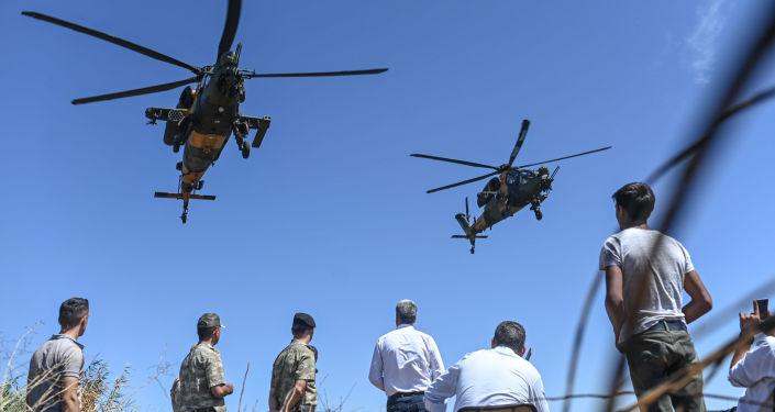 Los helicópteros turcos