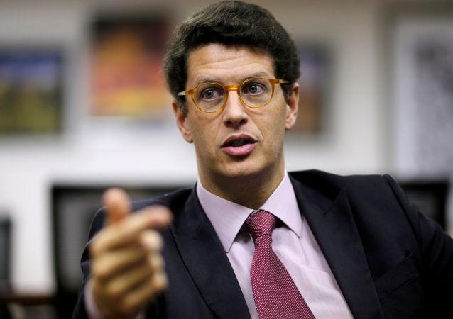 Ricardo Salles, el ministro de Medio Ambiente de Brasil