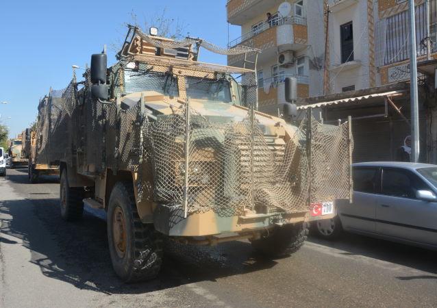 La operación turca Fuente de Paz en el noreste de Siria