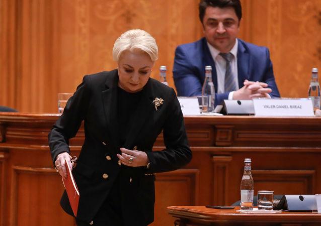 Viorica Dancila, primera ministra de Rumanía
