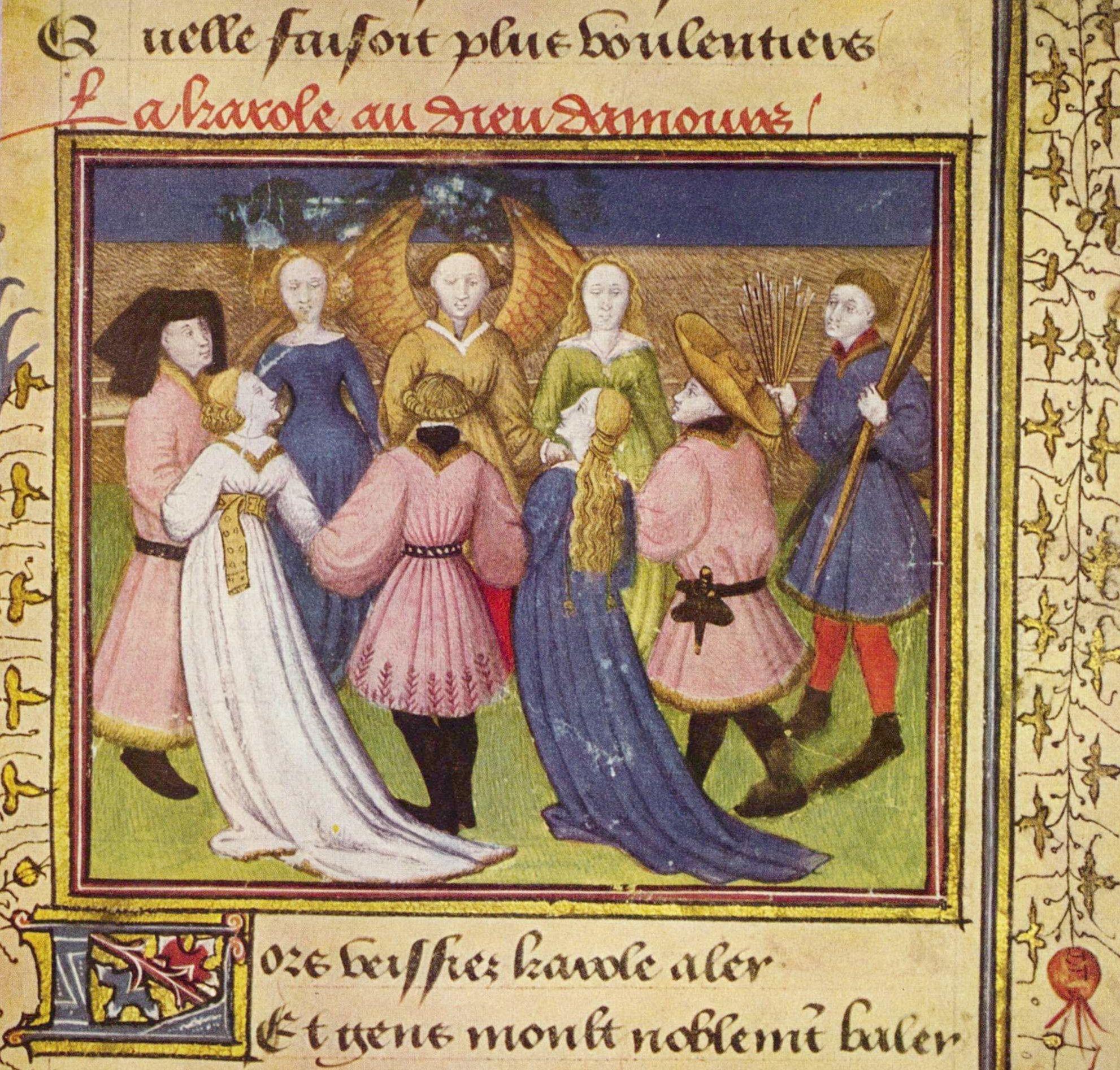 'Le Roman de la Rose' (ilustración)