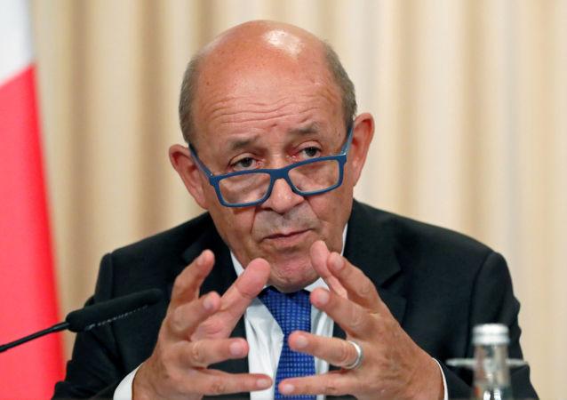 Jean-Yves Le Drian, el ministro de Exteriores de Francia