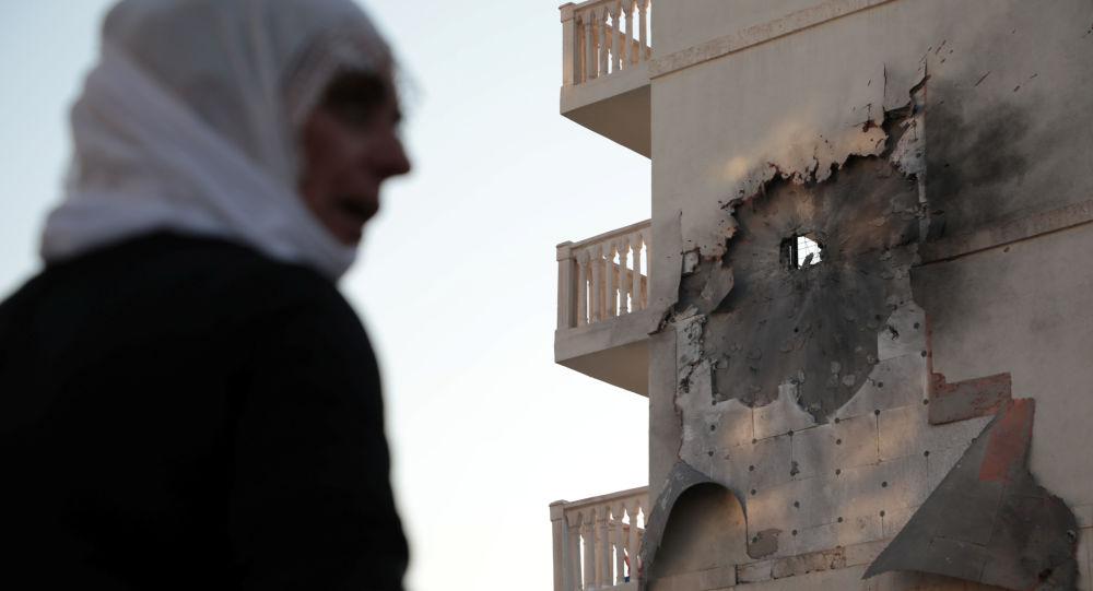 Consecuencias de los ataques desde el territorio sirio, Nusaybin, Turquía