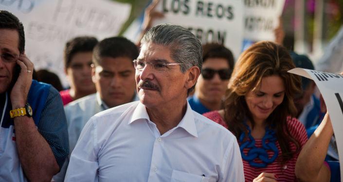 Norman Quijano, titular del Parlamento de El Salvador