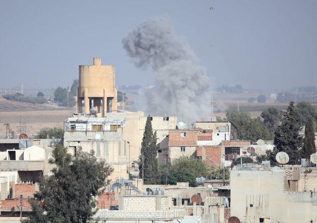 Bombardeo de Turquía en Siria