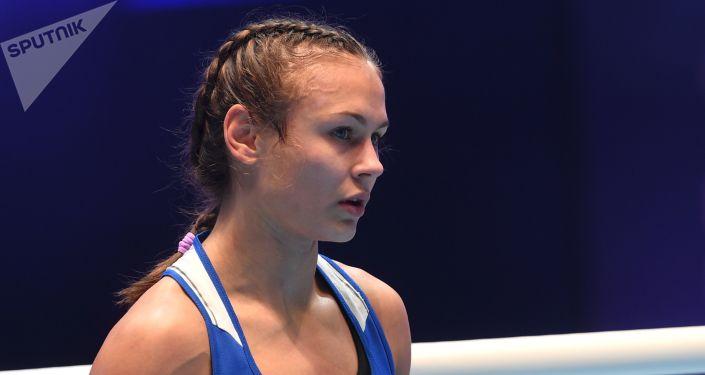 Ekaterina Paltseva, boxeadora rusa