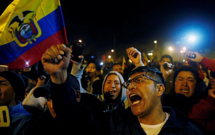 Algunas reflexiones tras los acontecimientos en Ecuador
