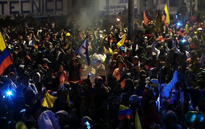 Ecuador celebra una gran fiesta tras la revocación del decreto de Lenín Moreno