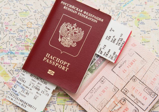 Un pasaporte ruso (imagen referencial)