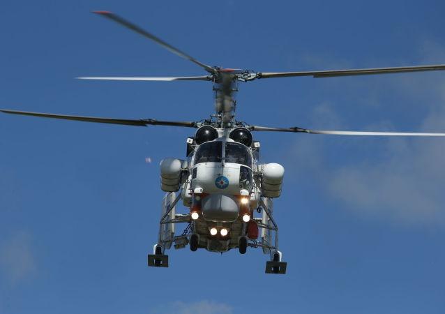 El helicóptero ruso Ka-32