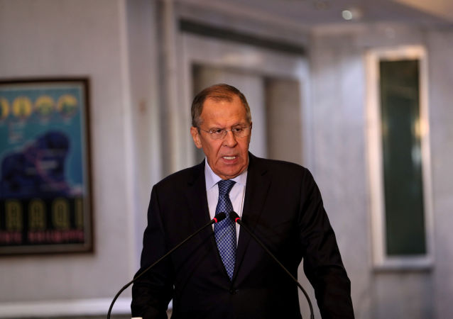 Serguéi Lavrov, canciller de Rusia (archivo)