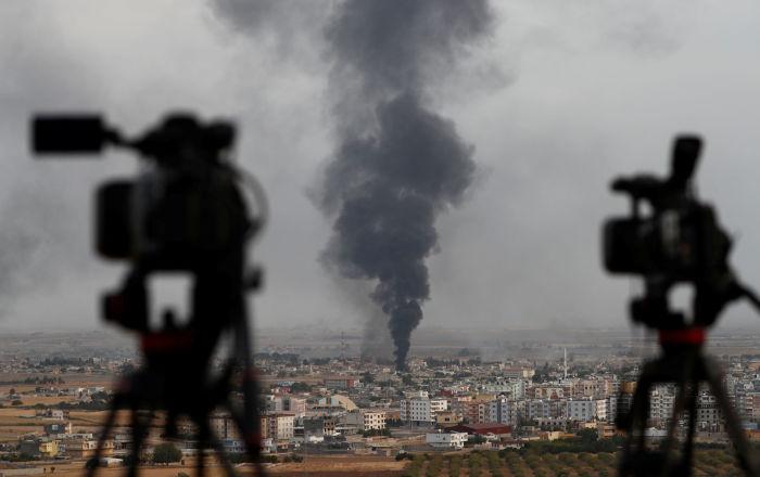 Seis países europeos llaman a Turquía en la ONU a cesar su ofensiva en Siria