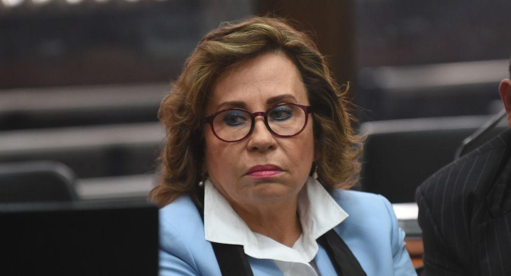 Sandra Torres, excandidata presidencial guatemalteca (archivo)