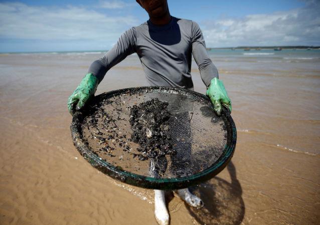 Petróleo en las costas de Brasil