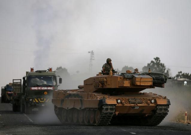 La técnica militar turca en la frontera turco-siria
