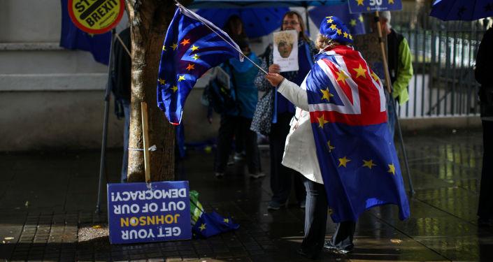 Manifestaciones contra el Brexit