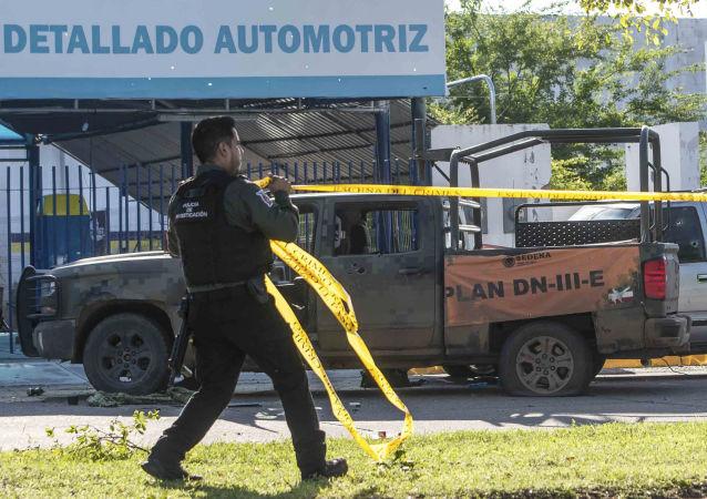 Consecuencias del tiroteo en la ciudad mexicana de Culiacán, el 18 de octubre de 2019