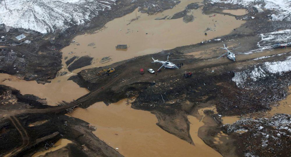 Las consecuencias de la rotura de presa en Siberia, Rusia