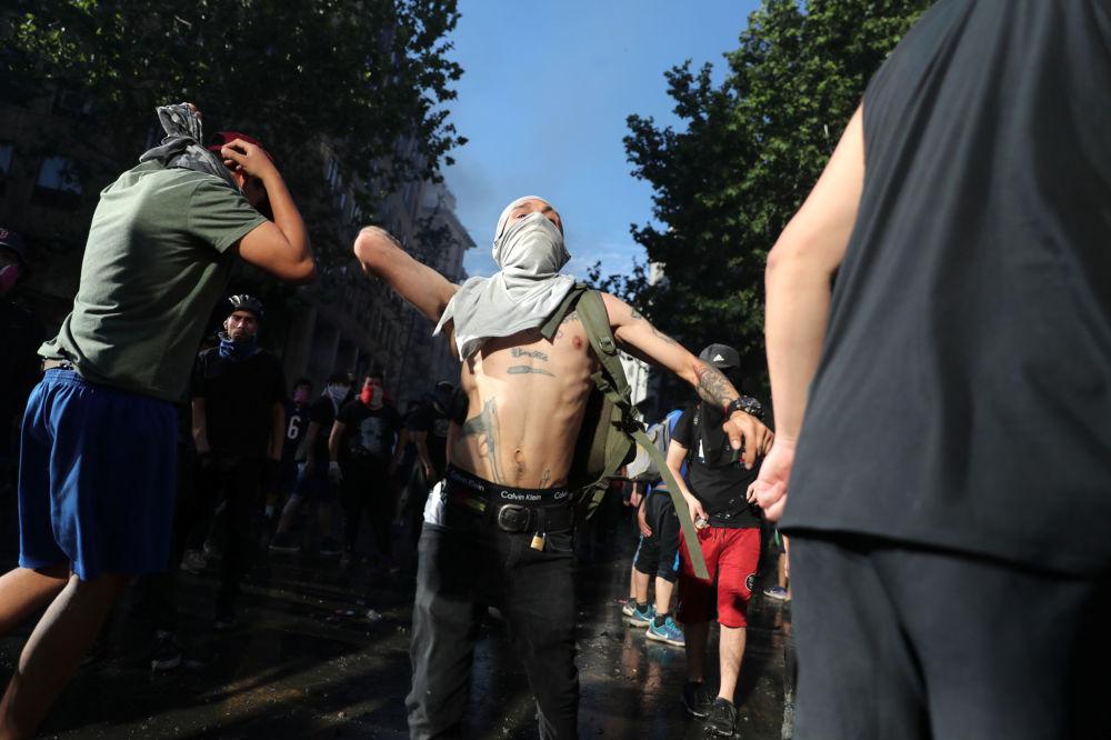 Manifestaciones en Chile: más de diez muertes y cientos de heridos