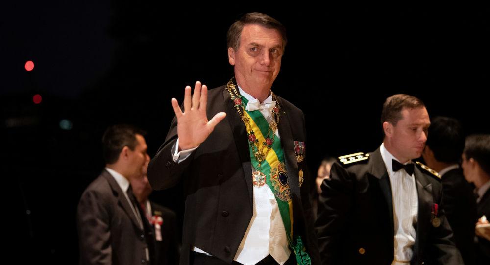 El presidente brasileño, Jair Bolsonaro