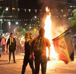 Violentas protestas sacuden La Paz tras las elecciones presidenciales