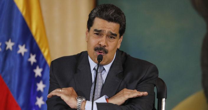 Nicolás Maduro, presidente venezolano