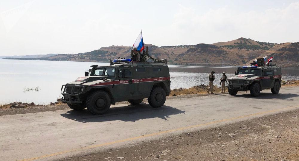 La Policía militar rusa en Siria