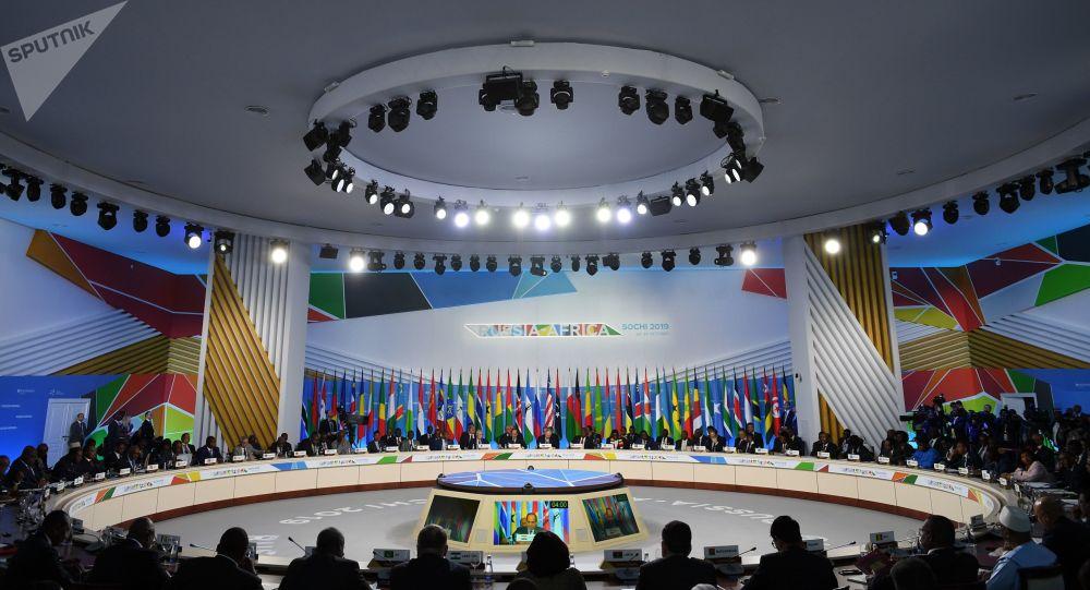 La primera cumbre Rusia-África en Sochi