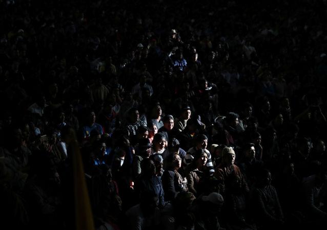 Las protestas en Ecuador (archivo)