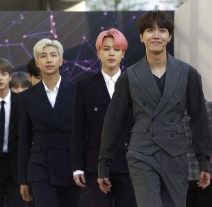 Grupo K-Pop surcoreano BTS