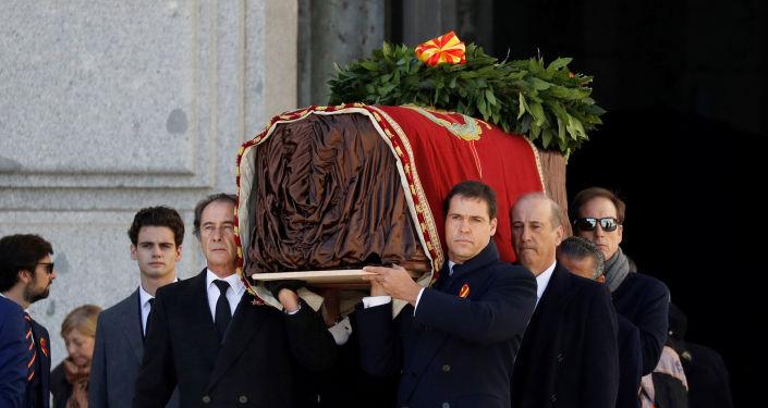 Exhumación de Francisco Franco