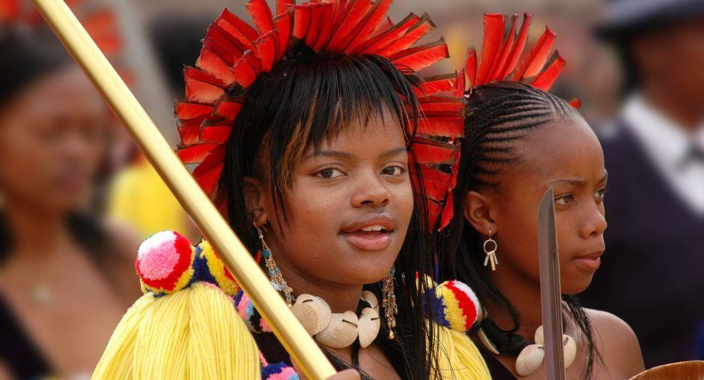 La princesa del Reino de Esuatini, Sikhanyiso Dlamini