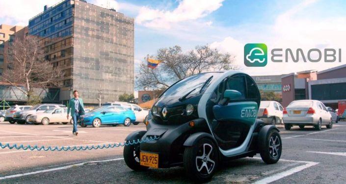 Auto eléctrico compartido en Bogotá