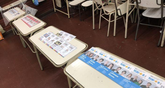 Los boletines electorales en Argentina