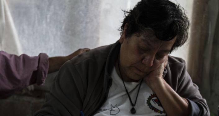 Patricia Chávez, fundadora de cooperativa Izalco, volcán de fuego, de salvadoreños en México