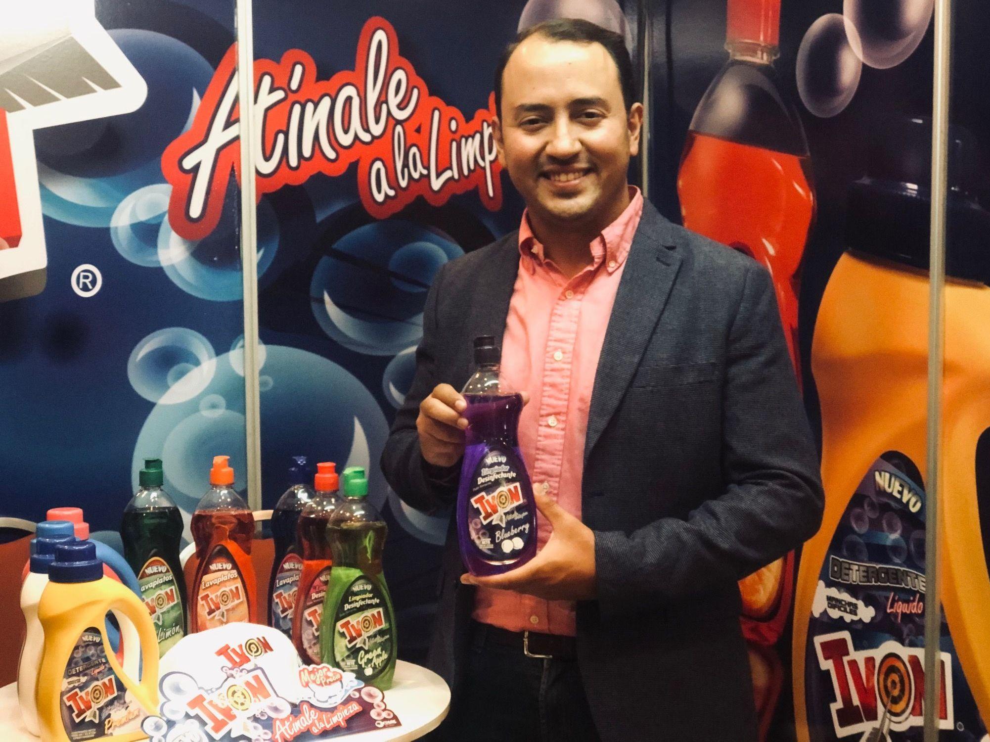 Romer Espinosa, empresario venezolano y creador de la marca de aseo 'Ivon'