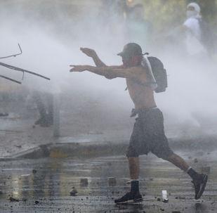 Protestas contra el Gobierno en Chile