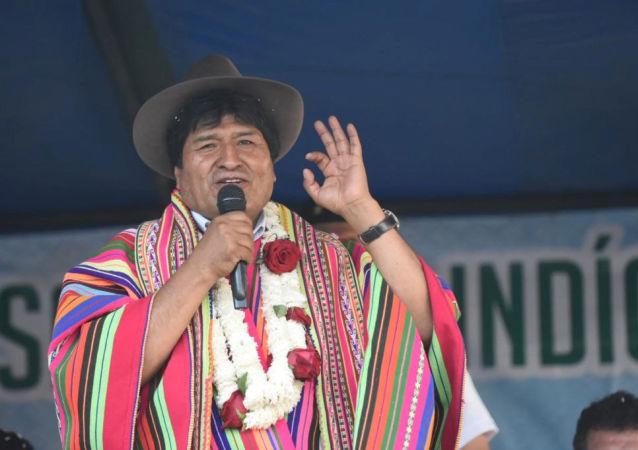 Evo Morales, presidente electo de Bolivia