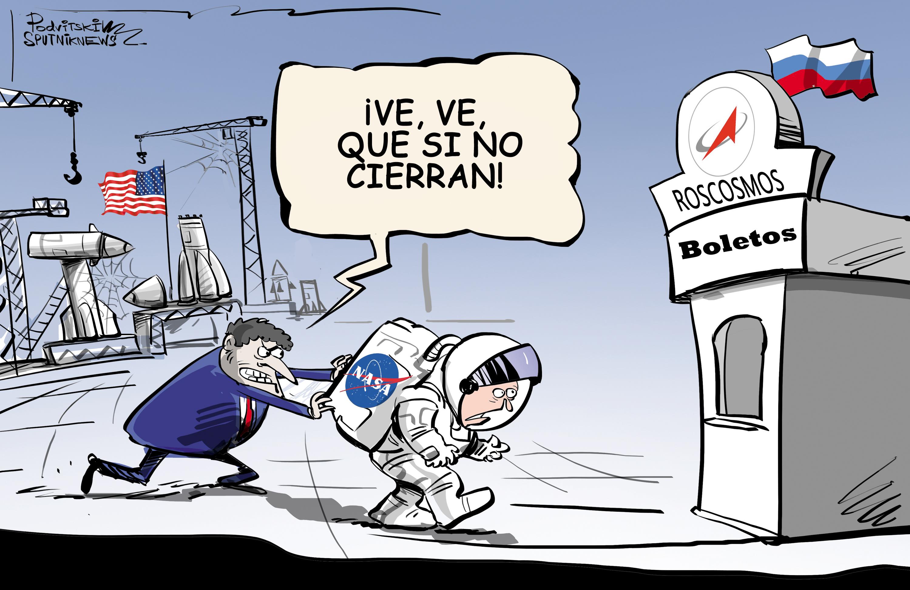 La NASA se pone a la cola para subirse a las naves espaciales rusas