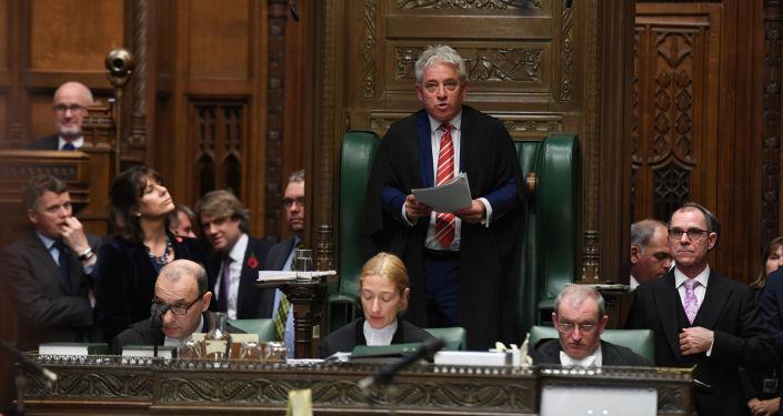 John Bercow, presidente de la Cámara de los Comunes