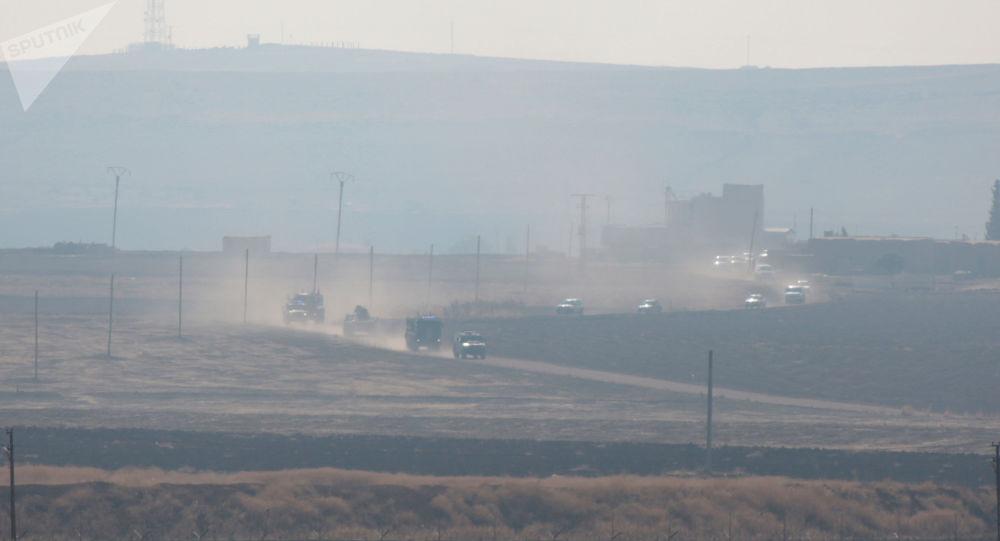El patrullaje conjunto ruso-turco en el norte de Siria