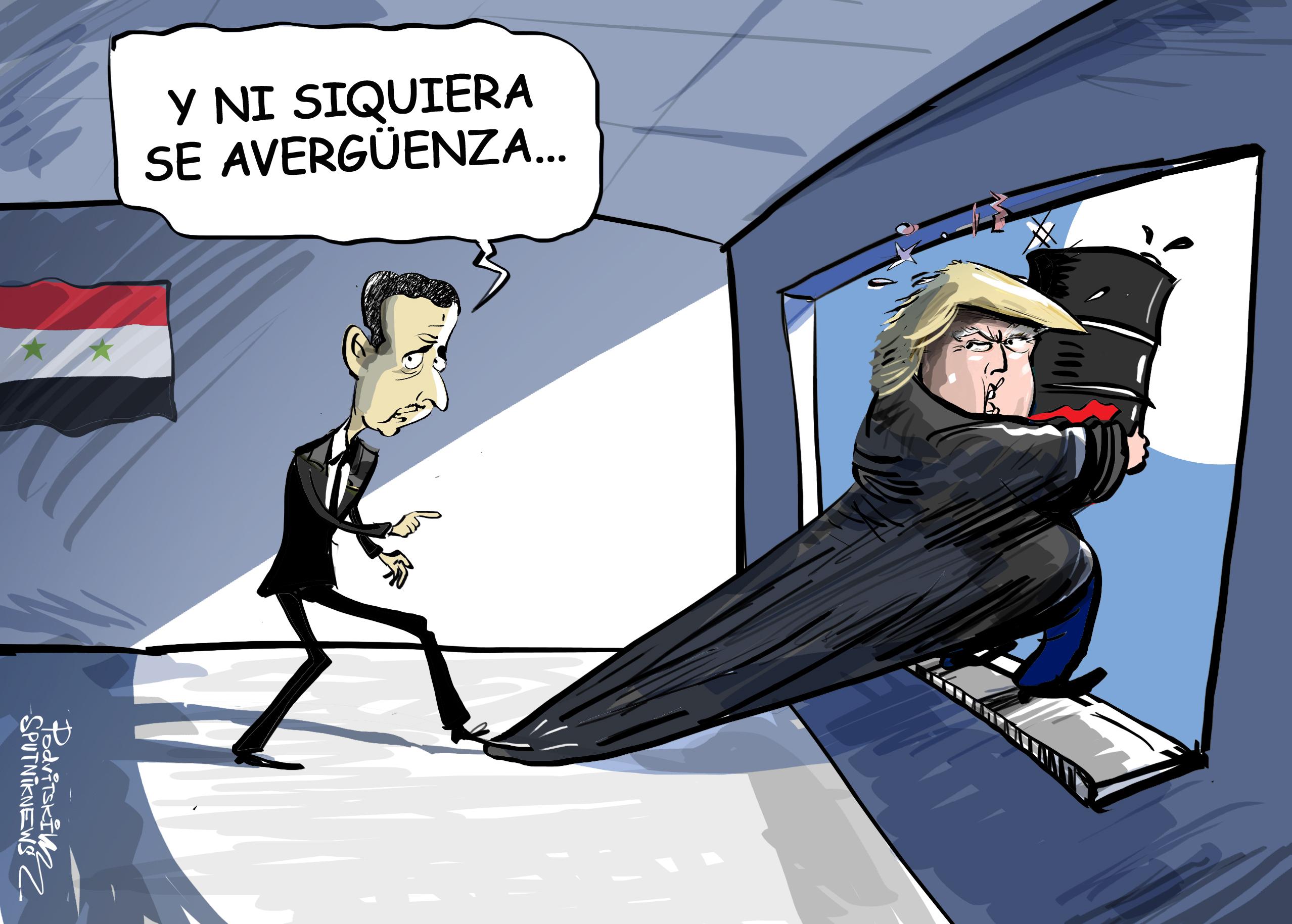 Trump es el mejor presidente de EEUU en opinión de Asad gracias a... su sinceridad