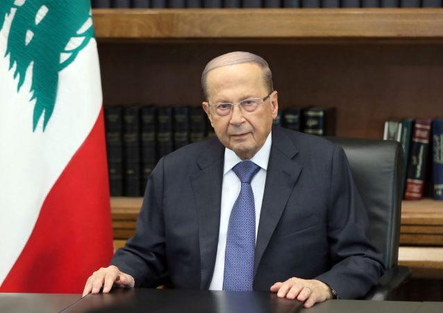 Michel Aoun, presidente del Líbano