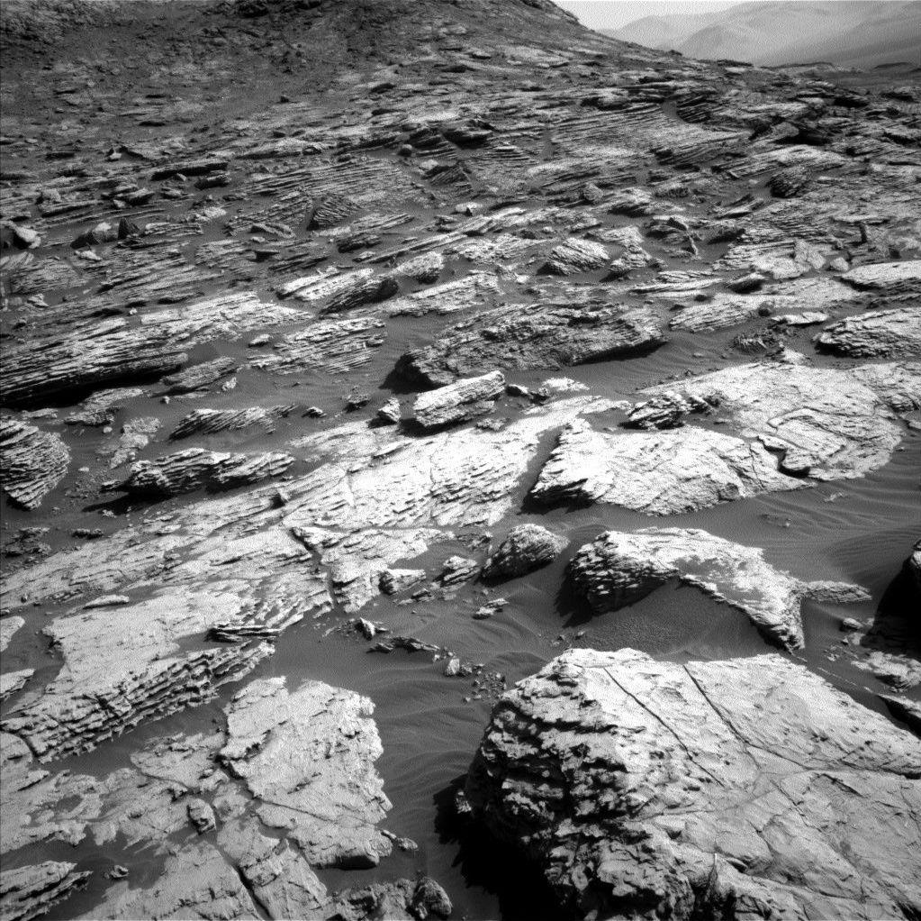 La foto del róver Curiosity