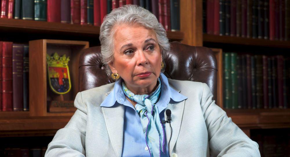 Olga Sánchez Cordero, secretaria federal de Gobernación de México