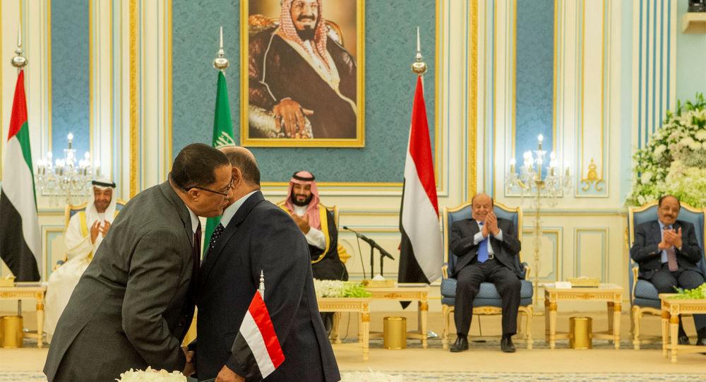 Representantes del Gobierno de Yemen y separatistas del Sur