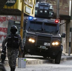 Fuerzas de seguridad de Jordania (archivo)