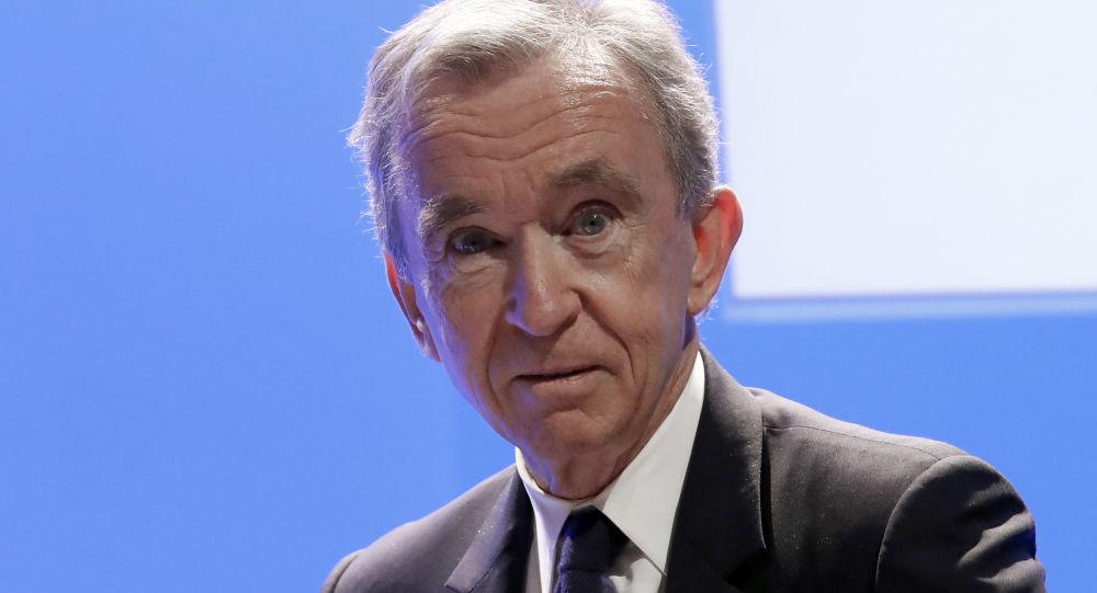 Bernard Arnault, magnate francés, director del grupo LVMH
