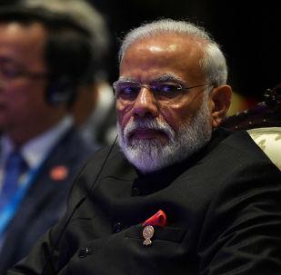 El primer ministro indio, Narendra Modi